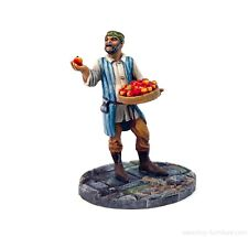 Apple seller - 28mm, D&D, Frostgrave, dungeon terrain, Warhammer
