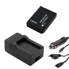 Akku + Ladegerät Set für Panasonic Lumix DMC-TZ10, DMC-TZ18, DMC-TZ20, DMC-TZ22