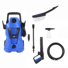 More details for neo electric high pressure power jet washer 110 bar patio car cleaner with brush