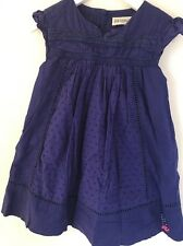 Maison Jean Bourget robe violette 3 ans