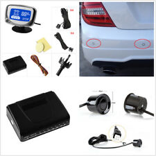 8 Pcs Voice Alert Rear & Front Car Parking Sensor with LCD Display Radar System