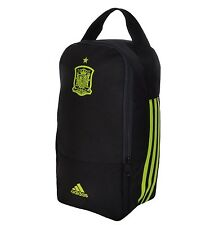 ADIDAS Spagna Boot Bag-Calcio Scarpa bag-TRE 3 a Righe Nero Giallo Spagnolo