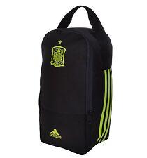 Adidas Spain Boot Bag - Football Shoe Bag - Three 3 Stripe Black Yellow Spanish