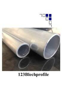Aluminium Rohr Ø20mm bis 2m Alurohr Aluprofil Alu Pfosten Rundrohr Modellbau
