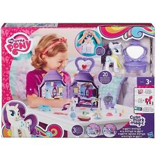 My Little Pony Cutie Mark Magic Rarity Booktique Play 3+ Toy Castle Doll House