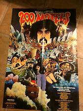 Frank Zappa 200 Motels movie poster
