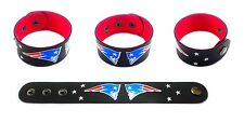 NEW ENGLAND PATRIOTS SYNTHETIC LEATHER WRISTBAND BRACELET
