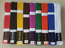 Karate Taekwondo Jiu-Jitsu Belt Professional Martial Arts 100% Cotton Brand New