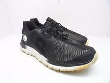 Reebok Men's ZPump Fusion PU Running Shoes Black White Size 13M
