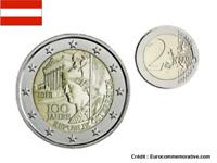 2 Euros Commémorative Autriche 2018 UNC Republique