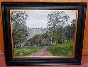 Alfred Kusterka - Weg ins Dorf -