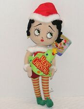 """NWT 2013 BETTY BOOP MERRY MESSAGES 20"""" SUGAR LOAF Christmas Doll"""