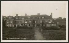 The Hampshire Home of Recovery. Fred Woolley House - Vintage Real Photo Postcard