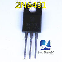5PCS 2N6491 Encapsulation:TO-220,COMPLEMENTARY SILICON POWER TRANSISTORS  new
