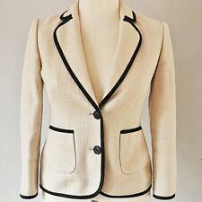 Various Sizes RRP £169. Hobbs Beverley Ivory Jacket