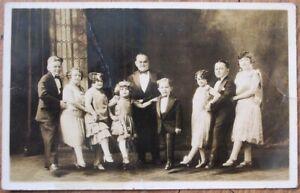 Little Person/Circus Sideshow 1937 Realphoto Postcard: 'Johnny J. Jones' Troup'