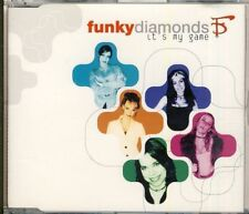 FUNKY DIAMONDS - it's my game  4 trk MAXI CD 1997