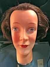 Antique German Art Deco Mannequin Head Hat/Wig Stand Made by AKO