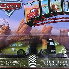 DISNEY CARS MODELLINI: MINI ADVENTURES DOC HUDSON SHERIFF