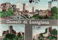 CASTELLI DI LUNIGIANA – VILLAFRANCA MALGRATE CASTEVOLI LUSUOLO – CARTOLINA FG