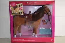NEW American Girl Horse and Saddle Set For Dolls