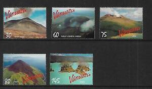 1998 Volcanoes set of 5  MUH/MNH