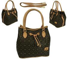 Damentaschen aus PVC mit Fächern und zwei Trägern