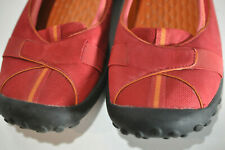 Privo by Clarks Womens red leather slip on shoes size 10 M