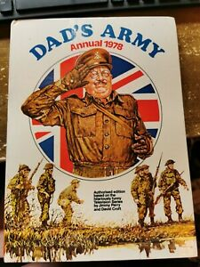 dads army  annual 1978 rare vintage unclipped tv series adaption