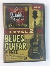 House of Blues Presents: Level 2 Blues Guitar DVD 2005 Lessons w/ John McCarthy