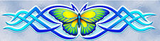SALE - Butterfly Blue Animal Vinyl Car Stickers Decal - STF125CBLOLD