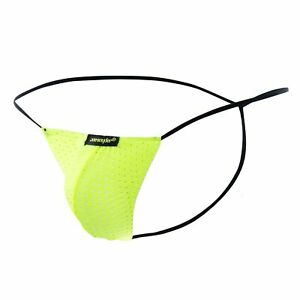 Joe Snyder G-String Holes-One Size-Lime Lime One Size JS02-HolesLime-OS Aucti...