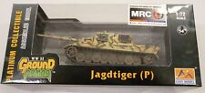 Easy Model MRC 1/72 German Jagdtiger Porsche 305001 Tank Model Built Up 36114