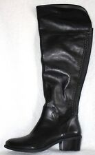 Vince Camuto Bendra Over-the-Knee Black Leather Boots 10 M
