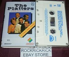 THE PLATTERS - THE PLATTERS COLLECTION VOLUME ONE -12 TRACK CASSETTE TAPE-