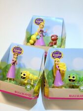 Bullyland Disney Tangled Rapunzel Action Figure Toy 3 Sets