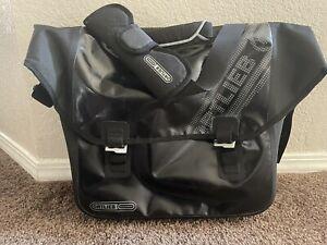 Ortlieb Downtown Black Bike Pannier Messenger/Laptop Work Bag