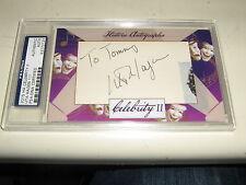 2015 Historic Autographs Celebrity II cut autograph signature UTA HAGEN 1/1