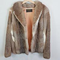 VINTAGE | Mr Robert Sydney Womens Genuine Fur Jacket [ Size AU 16 or US 12 ]