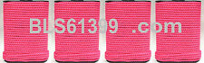 """Set of (4) Pink Braided 1/8"""" in x 45' ft Boat Marine Utility Line Tie-Down Rope"""