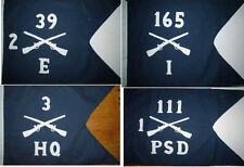 Customized US Army Infantry Guidon Flag    Doublesided