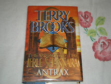 Antrax by Terry Brooks      **SIGNED**