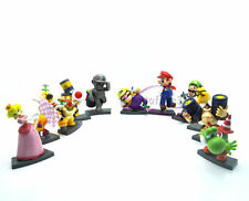 "Super Mario Bros 2-3""Lot 11 BOWSER Figure Toy MS2045"