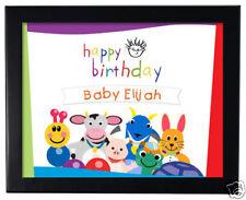 1 Baby Einstein Birthday Personalized Favor 8 x 11 inch Wall Print