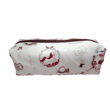 Uma Hana Music Themed Water Resistant Rectangular Soft Pencil Case - 3 Patterns