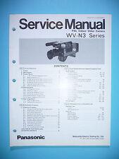 manual de manual de servicio para Panasonic WV-N3 ,ORIGINAL