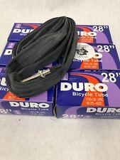 6 NEW Duro 700 x 18C-23C 25C 60mm XL Threaded Presta Valve Road Bike Inner Tubes