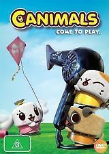 CANIMALS COME TO PLAY - BRAND NEW & SEALED DVD (REGION 4)