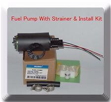 E2068 Fuel Pump W/ Strainer Fits: Acura Honda Isuzu Mitsubishi Suzuki