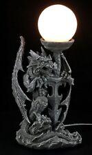 Lámpara - Dragón con espada - FANTASY GOTHIC Iluminación Deco Figura